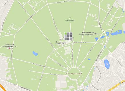 Посмотреть google-карту