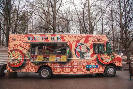 Food Truck Festival in Sokolniki  Sokolniki Exhibition and