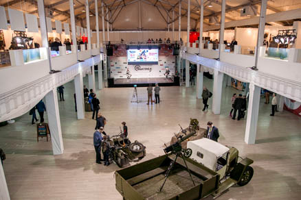 Vystrel exhibition held for the first time in Sokolniki