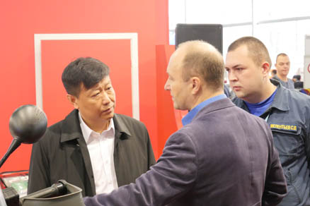 Sokolniki Exhibition and Convention Center Receives Delegation from China