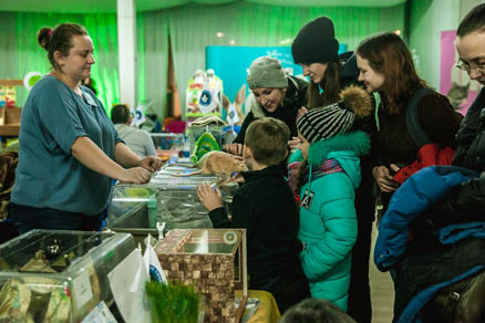 Pet Shows Take Place in Sokolniki