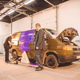 "Practical seminar ""Workshop on British Vehicle Vinyl Wrapping"""