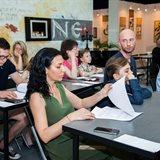 Весенняя презентация курса каллиграфии для детей