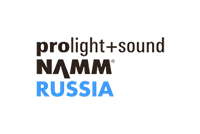 Prolight + Sound NAMM Russia, the 4th International Exhibition of Stage and Studio Equipment, Event Installations, Technologies, and Services