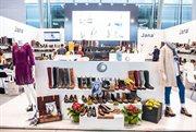 European branded shoes exhibition opened in Sokolniki