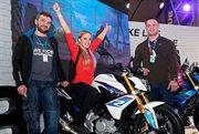 Выиграйте мотоцикл BMW на выставке «Мотовесна-2017»!