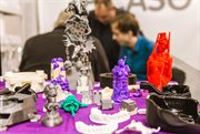 Exhibition of modern 3D printing and scanning technologies in Sokolniki
