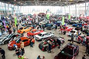 Drifters from all across Russia gathered in Sokolniki