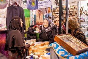 Artos. The mood of Christmas festival in Sokolniki
