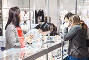 Jewellery Vernisage in Sokolniki. Jewellery Exhibition and Sale