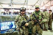 Military style festival takes place in Sokolniki
