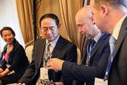 """""""索科利尼基""""会展中心董事长阿列克谢•萨布罗夫参加""""中俄70周年对话:对接点与增长点""""活动。"""