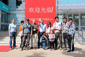 Guests from Beijing visited Sokolniki Exhibition and Convention Centre