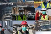 Great workers demonstrate 'Chinese speed'