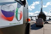 Russian Aerospace Forces delivered around hundred experts to Italy to help fight COVID-19