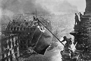 75 years ago Soviet soldiers raised the Victory Flag over the Reichstag
