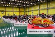 """通过摩托车品牌显示世界历史。""""维亚切斯拉夫•舍亚诺夫的摩托世界""""博物馆"""