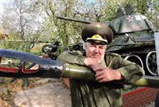 Retired Colonel from Oryol Region Gives Tanks to Everyone Interested