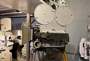"""Kinap Space"" Cinema Equipment Museum"